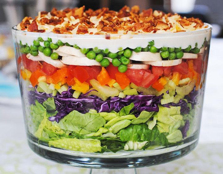 Фотографии изготовления украшений для салатов
