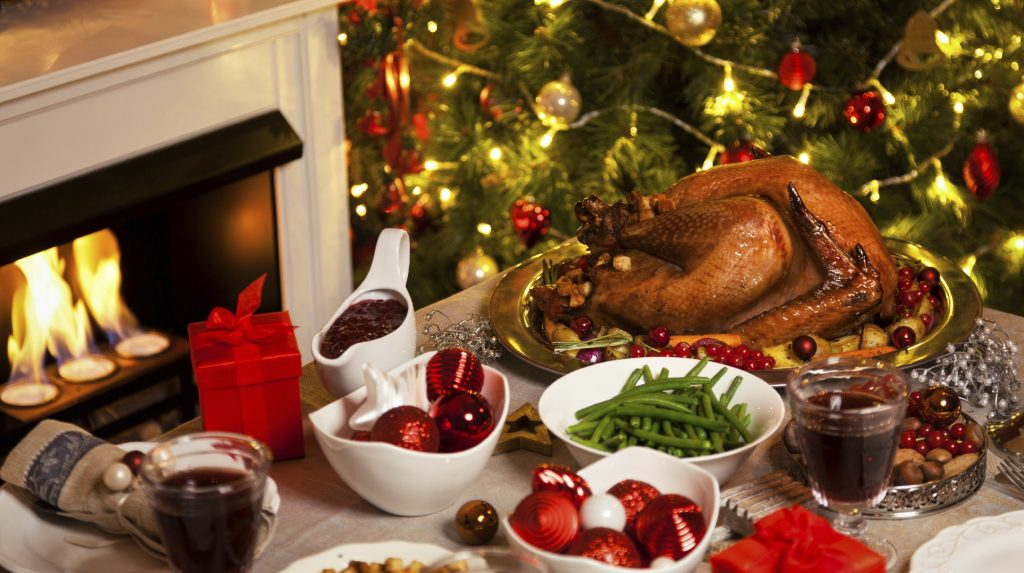 Новогодний праздничный ужин