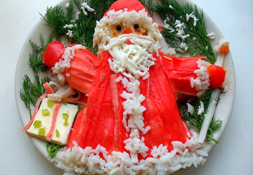Рецепты блюд на новый год салат