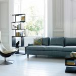 Фото 72: Сочетание геометрических и плавных линий для мебели в современной гостиной