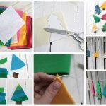 Фото 29: Изготовление Новогодней гирлянды из фетра