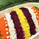 Фото 52: Украшение салата под шубой