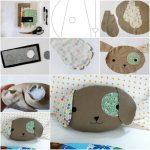 Фото 20: Изготовление подушки-собачки