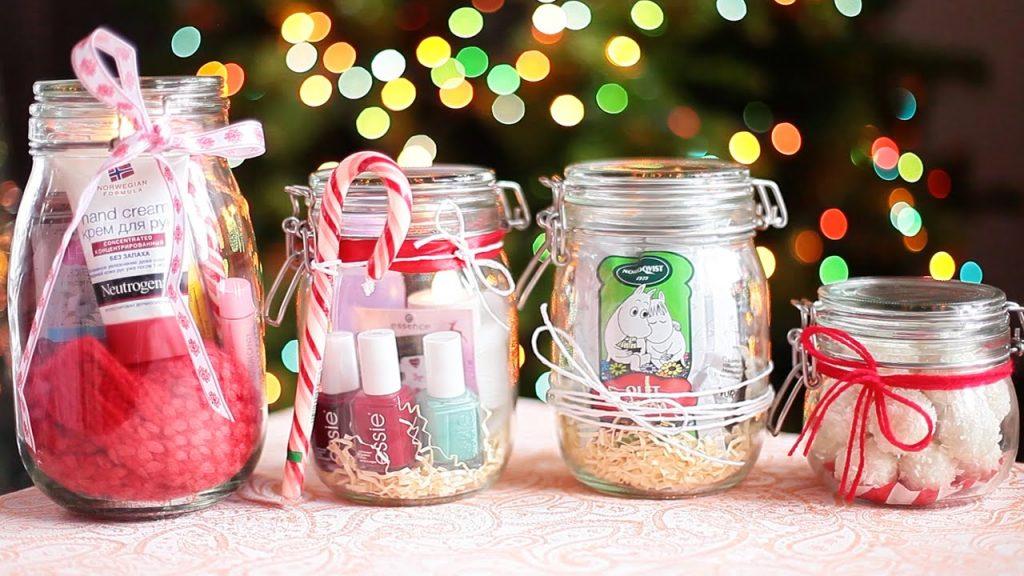 Подарки на Новый Год в баночках