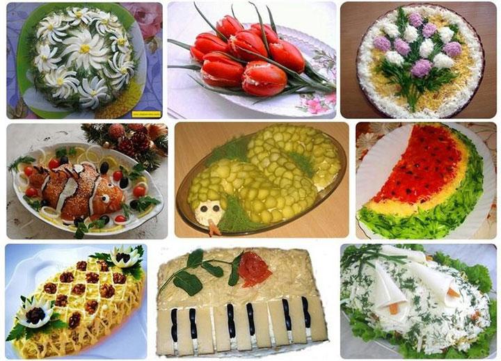 Дизайн салатов