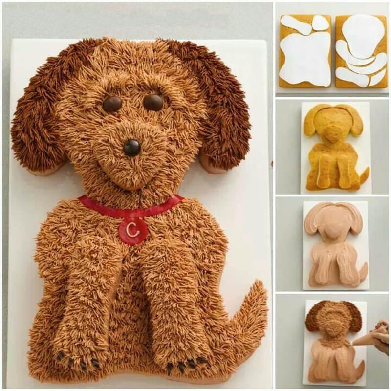 Торт-собачка