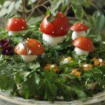 Фото 63: Украшение зеленью салата