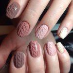 Фото 81: Вязка на коротких ногтях