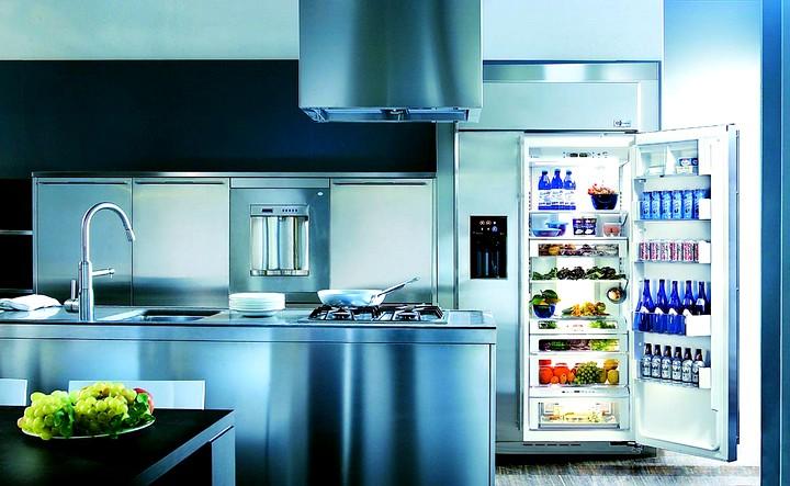 Встроенный холодильник 2