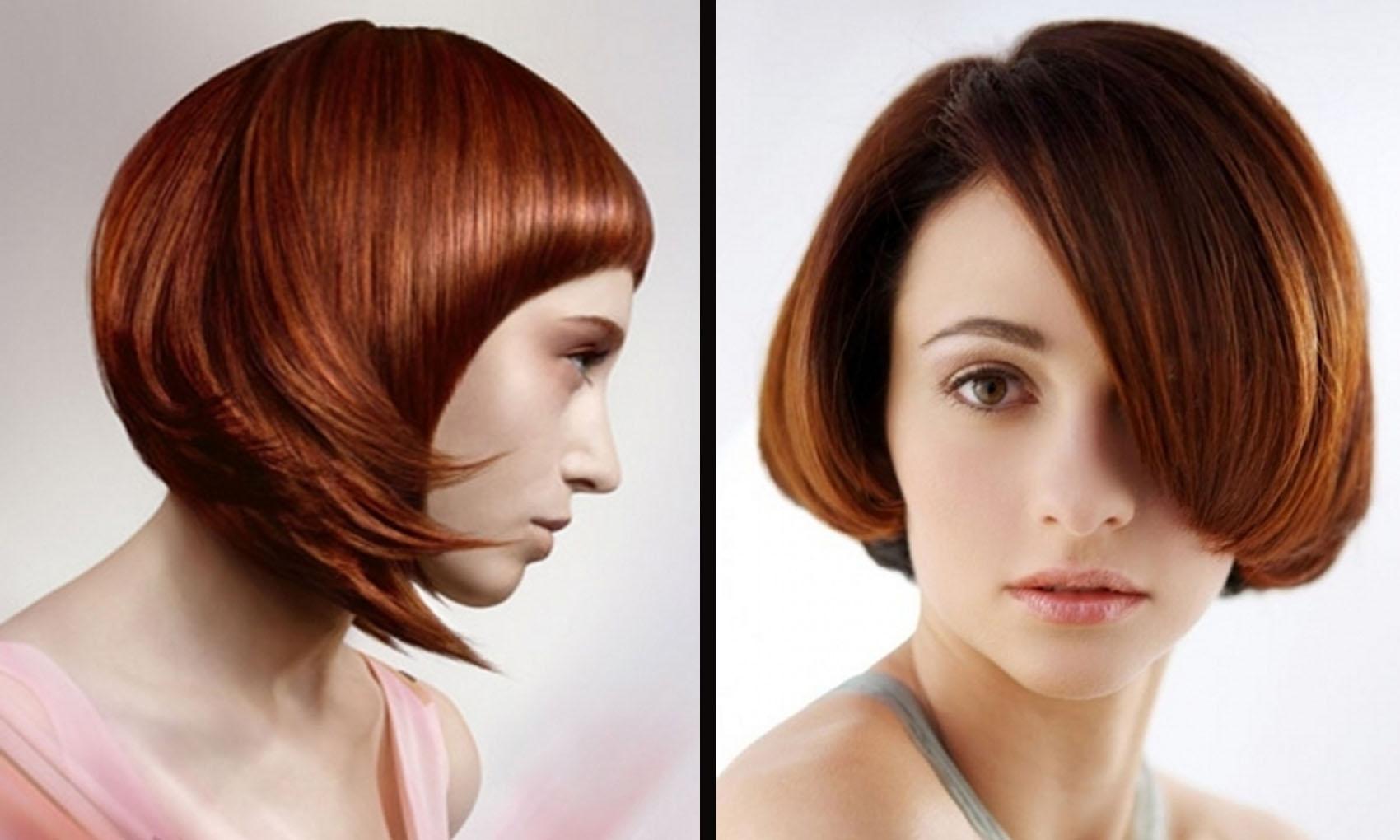 Nové účesy pre stredné vlasy pre ženy. 341a471e5d1