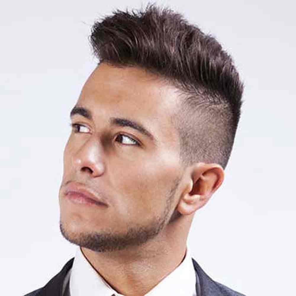 Причёска мужская короткие волосы