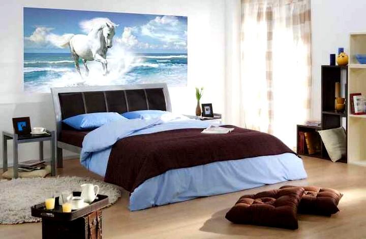 постер для интерьера спальни