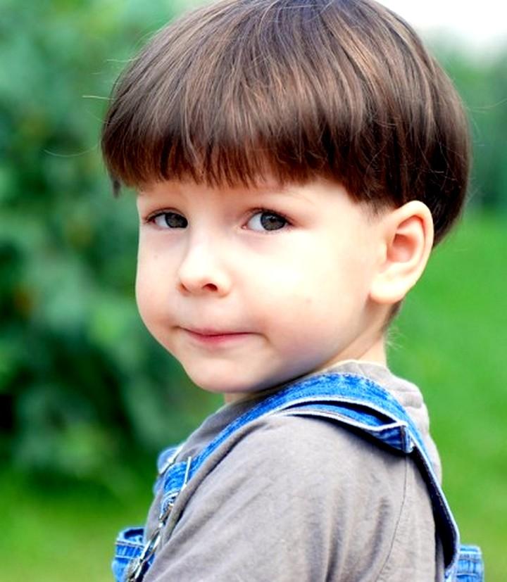 Прическа шапочка на мальчика