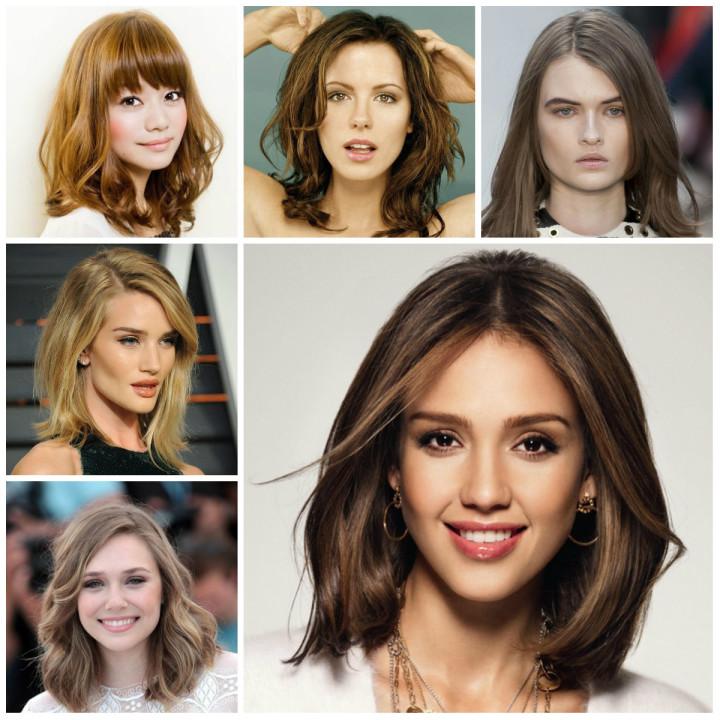 Женские стрижки на средние волосы 2016