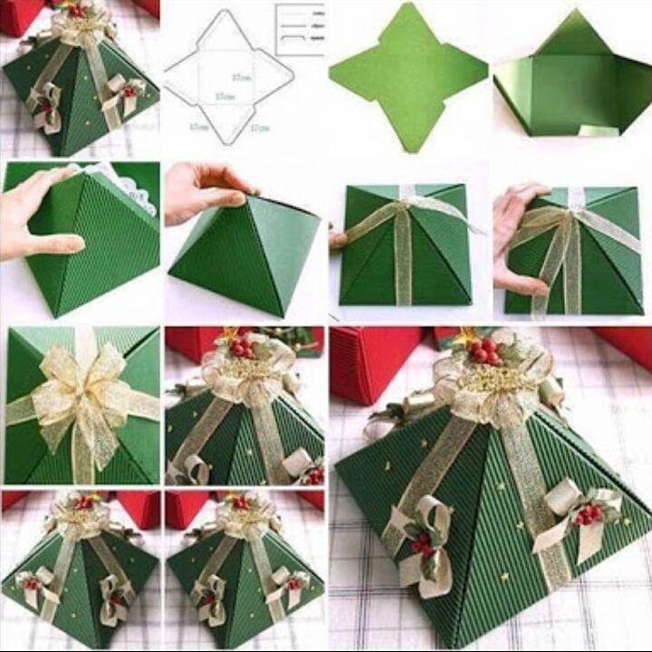 Упаковка для подарка из картона