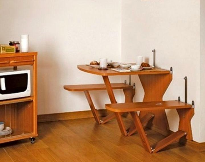 Использование складной мебели