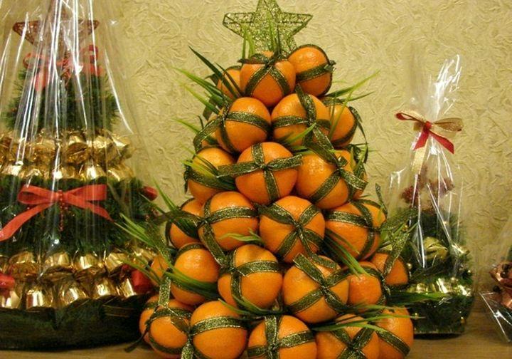 Съедобные новогодние елки