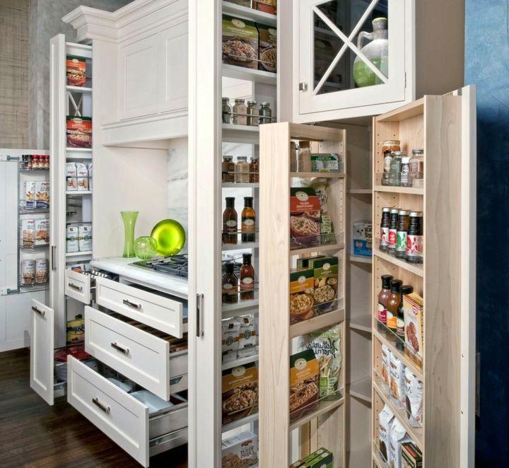 Полновыдвижные системы шкафов