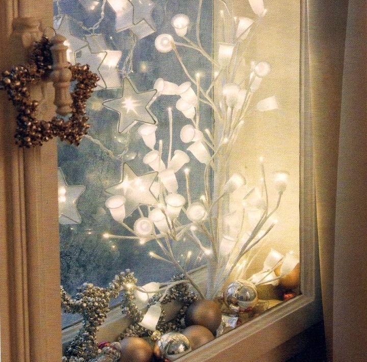 Яркое урашение окна