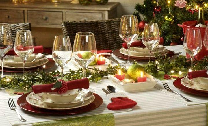 Цветовые предпочтения для новогоднего стола 2016