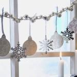 Фото 7: Гирлянда из новогодней мишуры