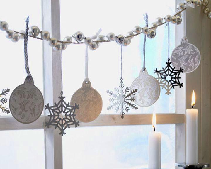 Гирлянда из новогодней мишуры