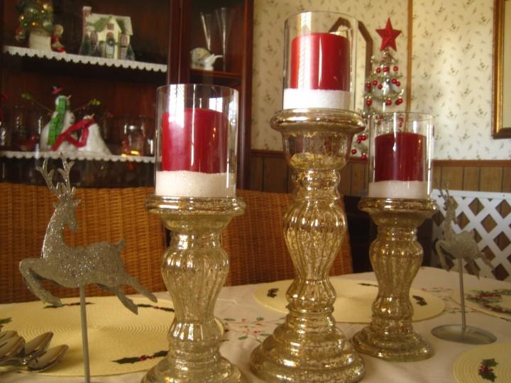 Красивые подсвечники - для новогоднего декора