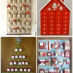 Фото 70: Новогодние эвент календари с записками или подарками