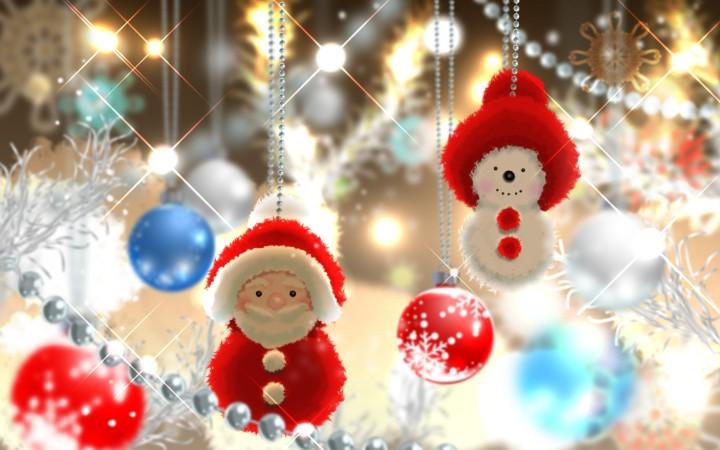 Делаем украшения на Новый год своими руками