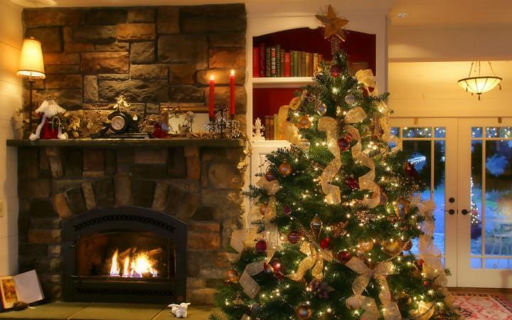 Идеи как украсить комнату на новый год