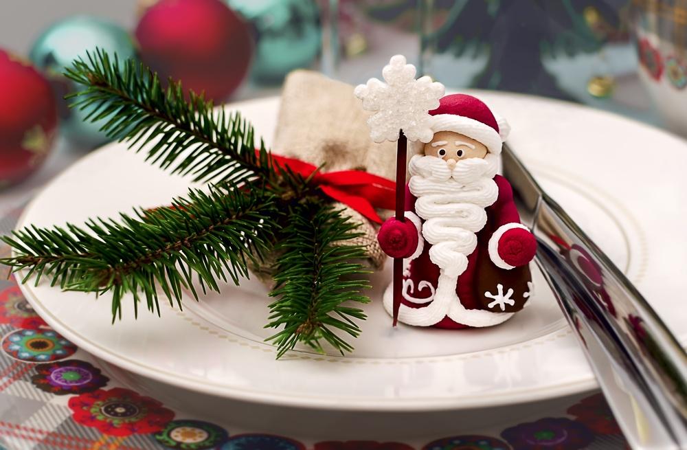 Фигурка для новогоднего стола