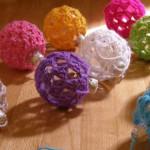 Фото 22: Вязаные шарики