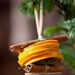 Фото 38: Натуральная игрушка из апельсинов и корицы