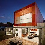 Проект дома с патио