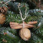 Фото 39: Игрушка из корицы и грецкого ореха