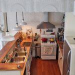 Фото 65: Маленькая кухня - студия