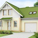 Маленький дом с гаражом