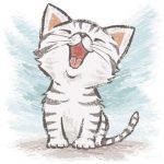 Фото 29: Мяукающий котенок