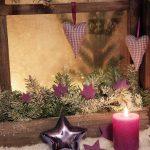 Фото 71: Новогоднее украшение окон
