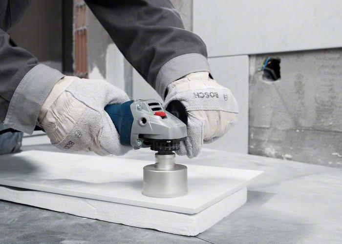 Как просверлить керамогранитную плитку на полу