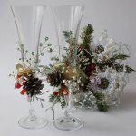 Фото 29: Новогоднее украшение бокалов
