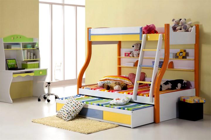 Двухъярусная кровать для детей 3