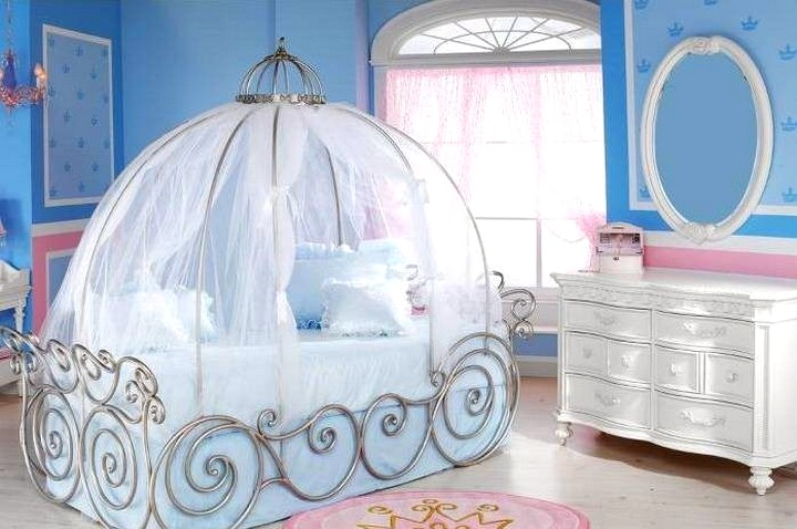 Детские кроватки для девочек 2