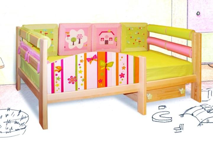 Кровать детская с бортом безопасности