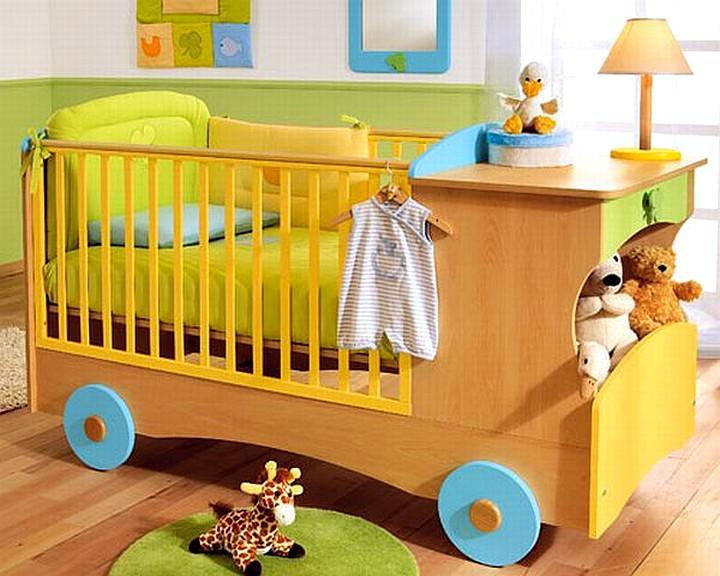 детская кровать машинка для младенца