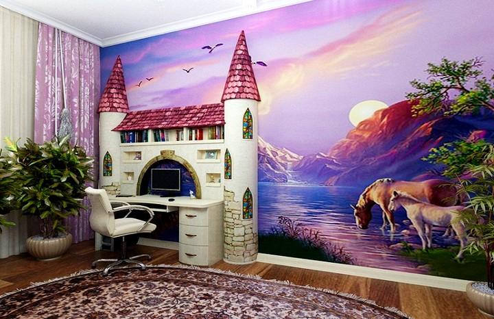 оформление детской комнаты 2