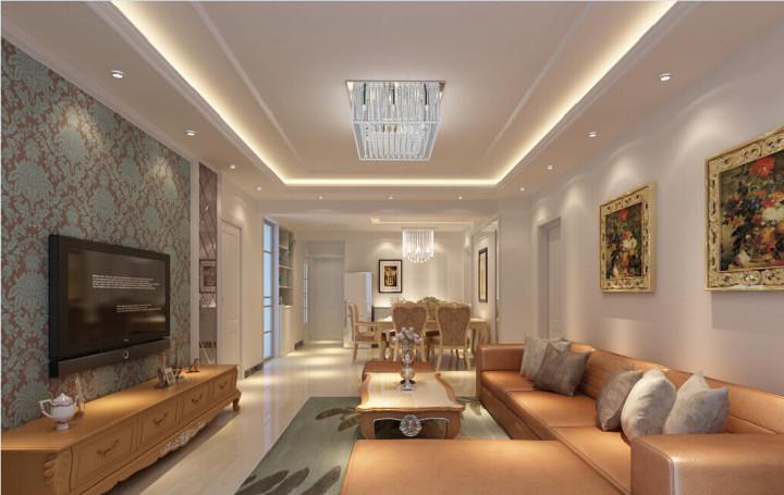Декоративная вставка для потолка с подсветкой