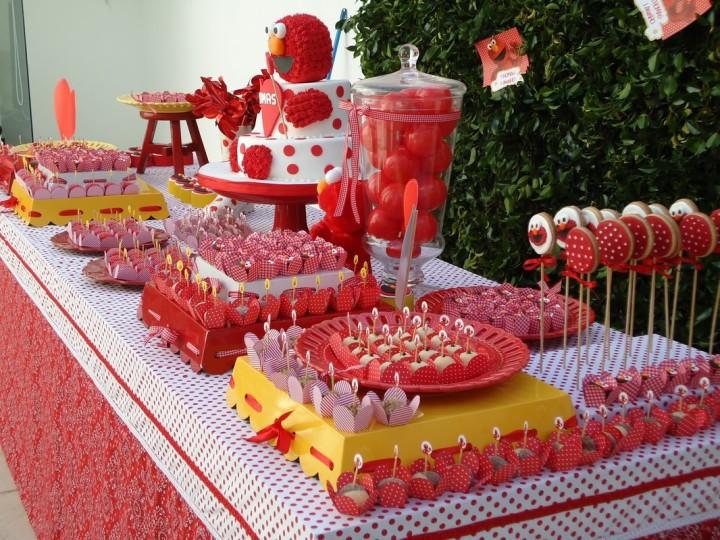 Идеи оформления стола на детский праздник