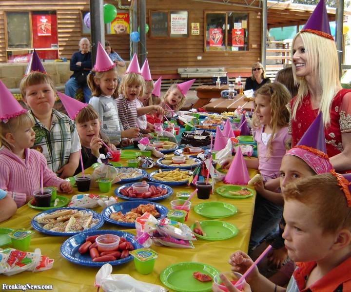 детский праздник своими руками