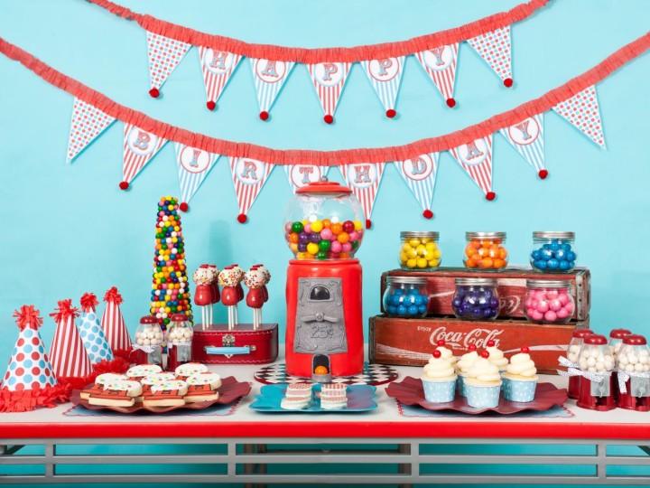 Как украсить помещение на детский праздник